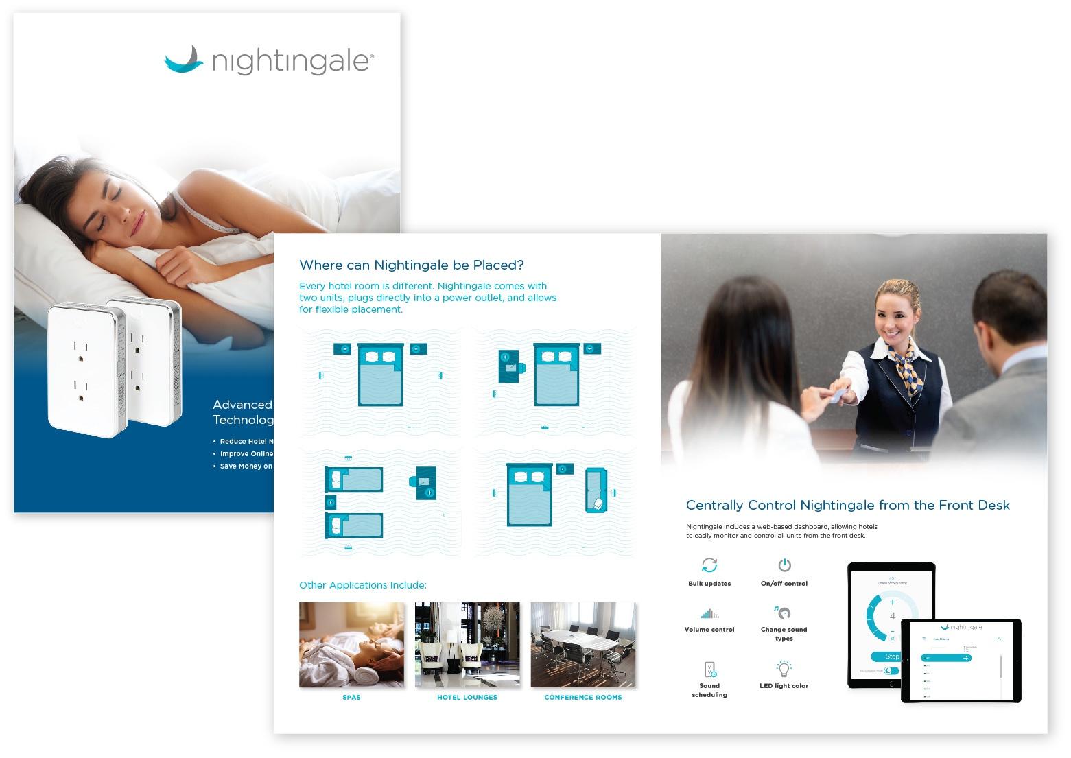 Nightingale Hotelbrochure