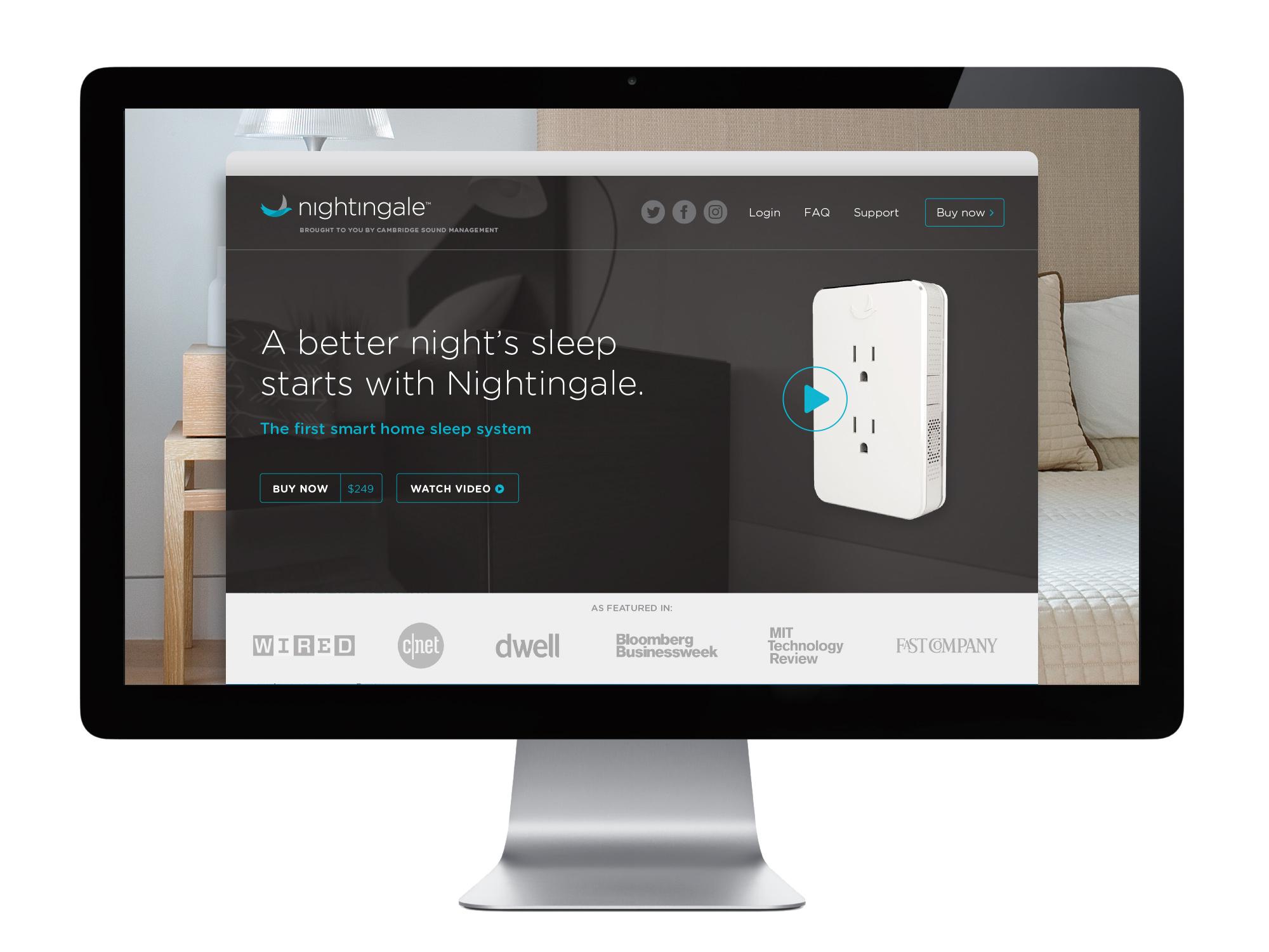 Nightingale Web Display