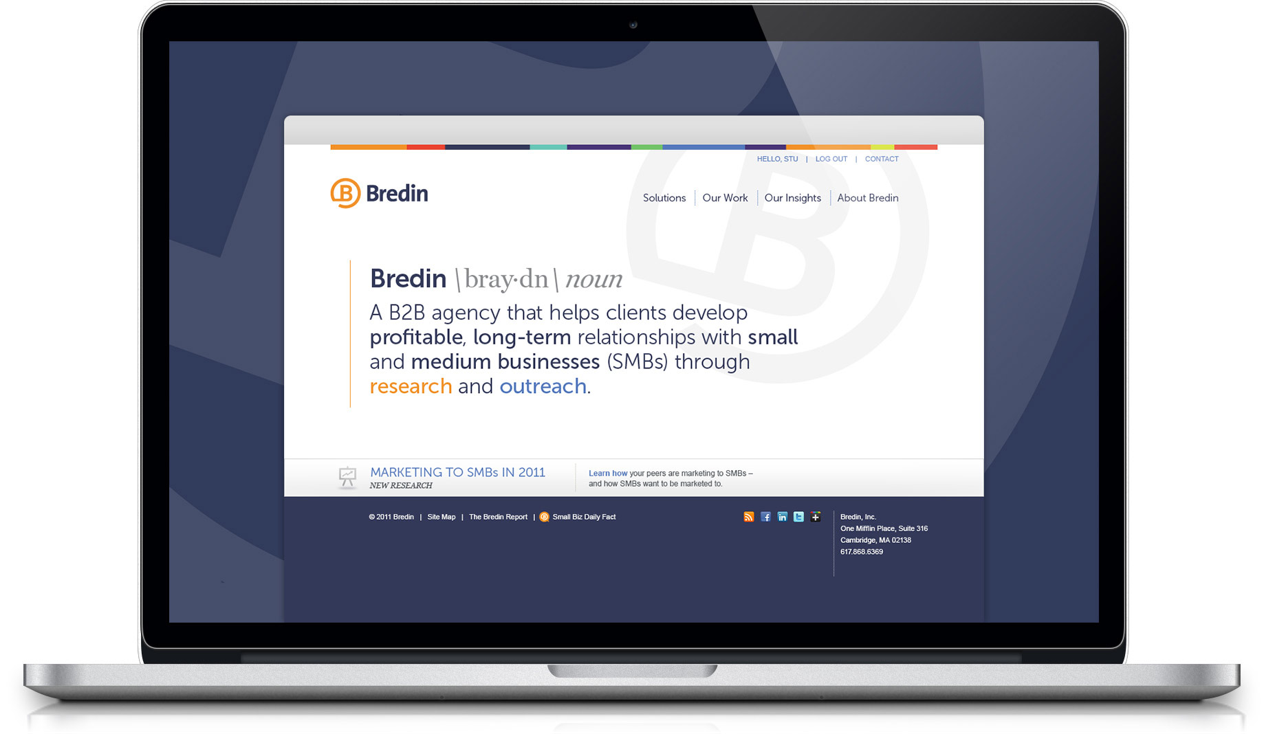 Bredin Website Design