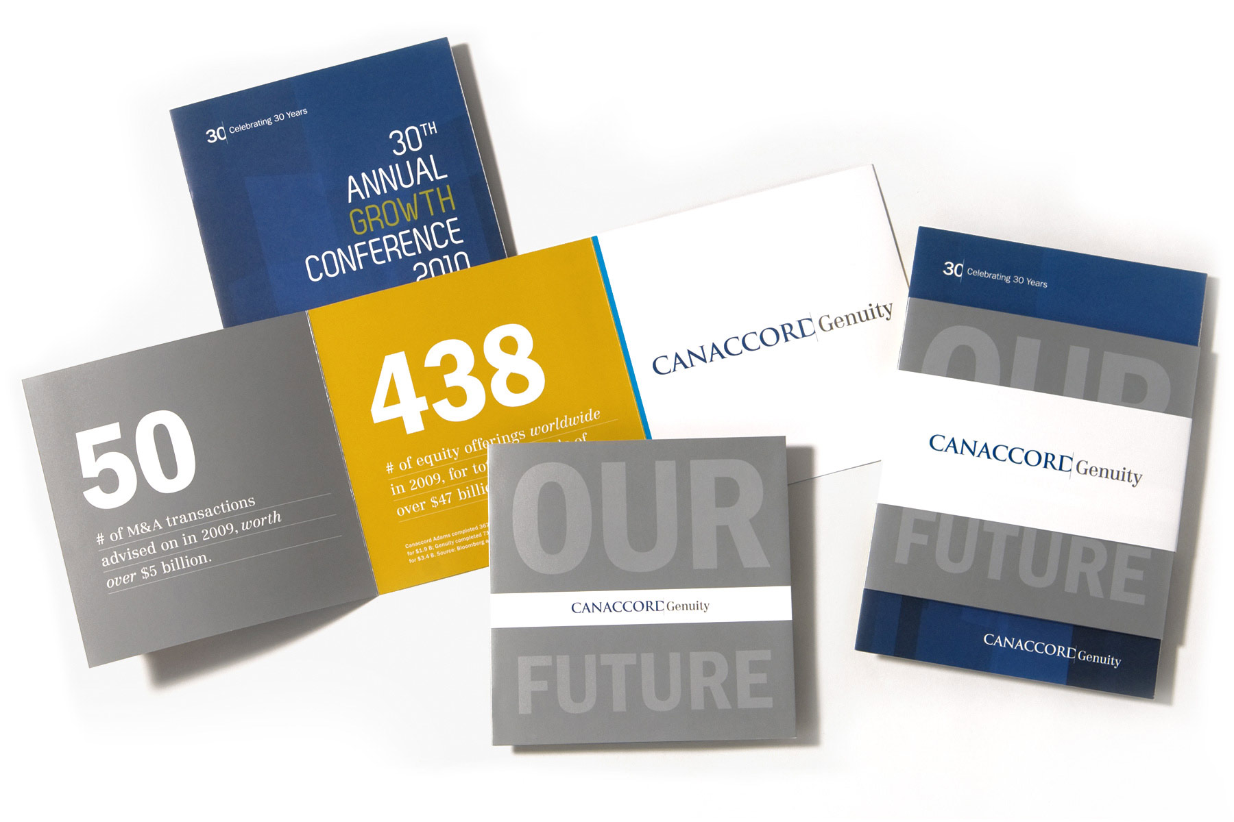 Canaccord Genuity Growth Conference printed 30th anniversary invite