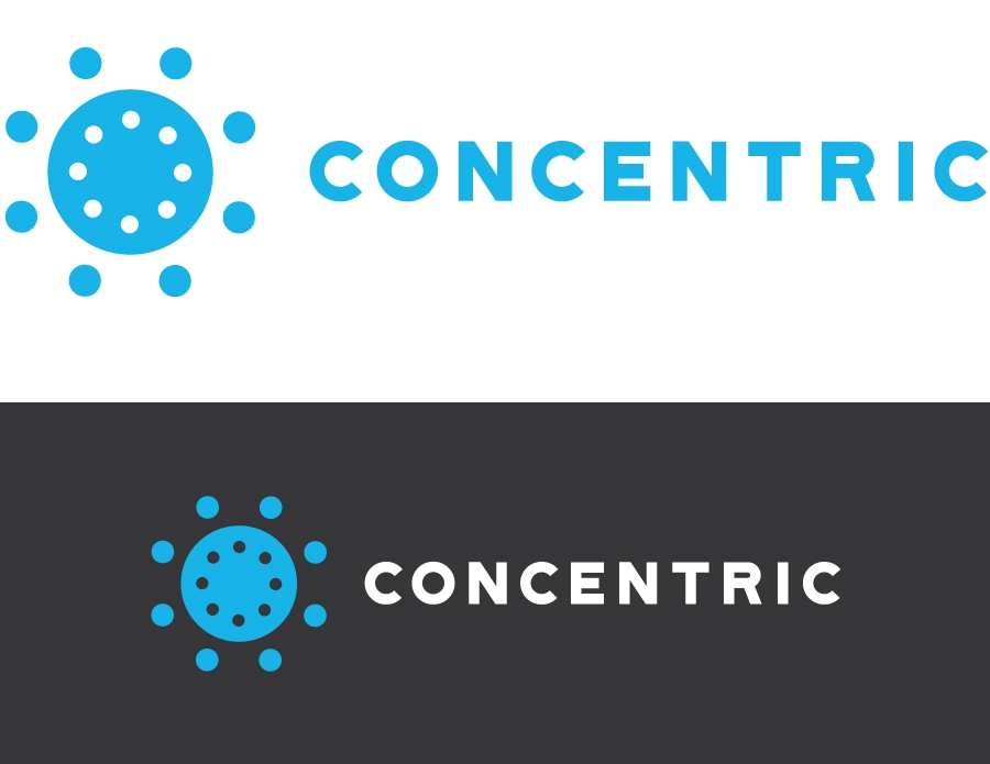 Concentric Branding Logo