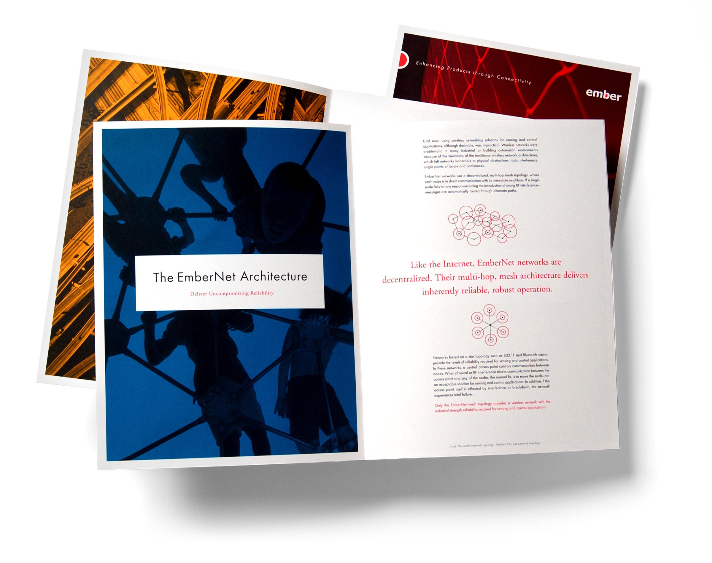 Ember Corporation brochure spread
