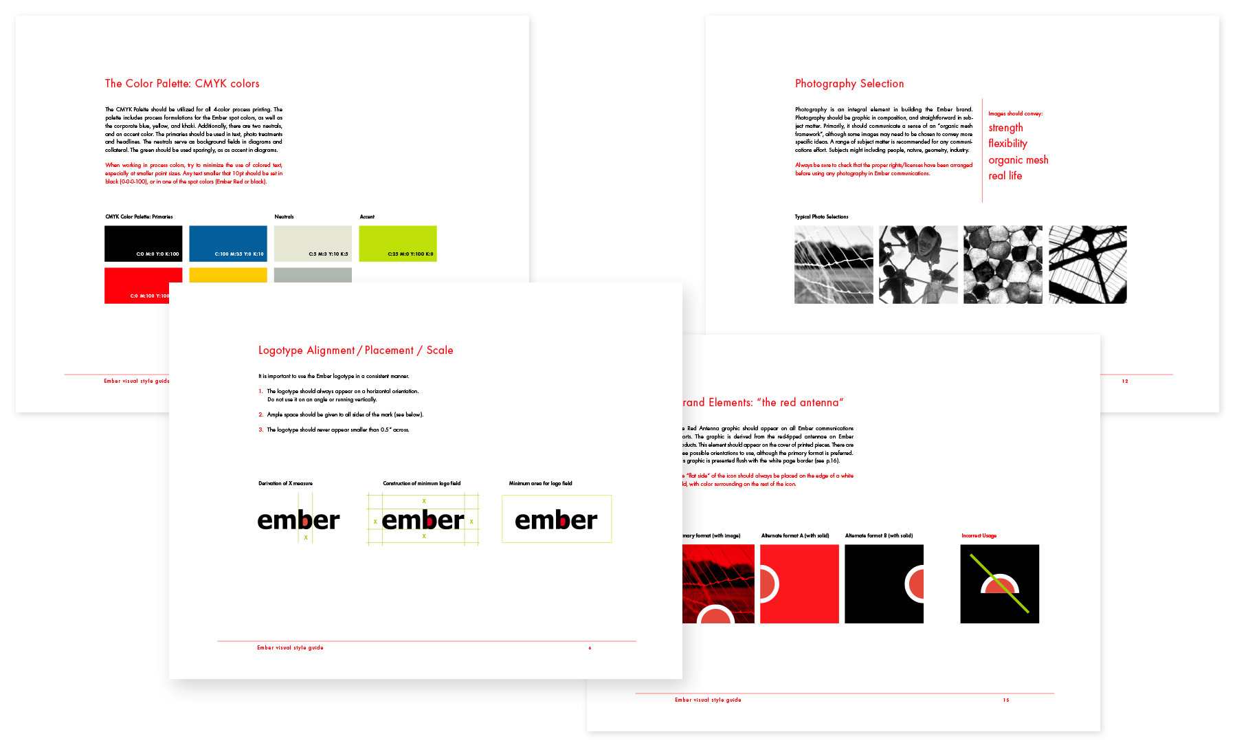 Ember Corporation style guide