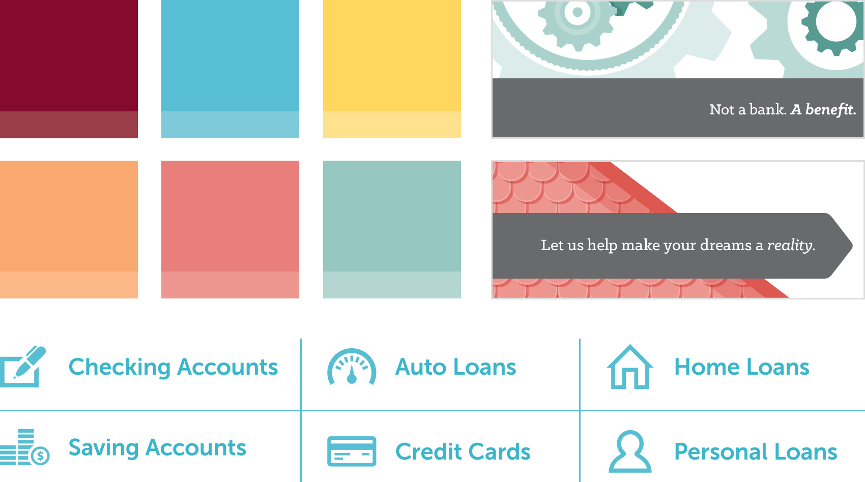 Harvard University Employee's Credit Union branding details
