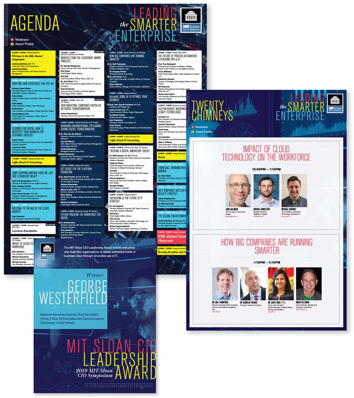 Mit Conferences Cio2019 Posters