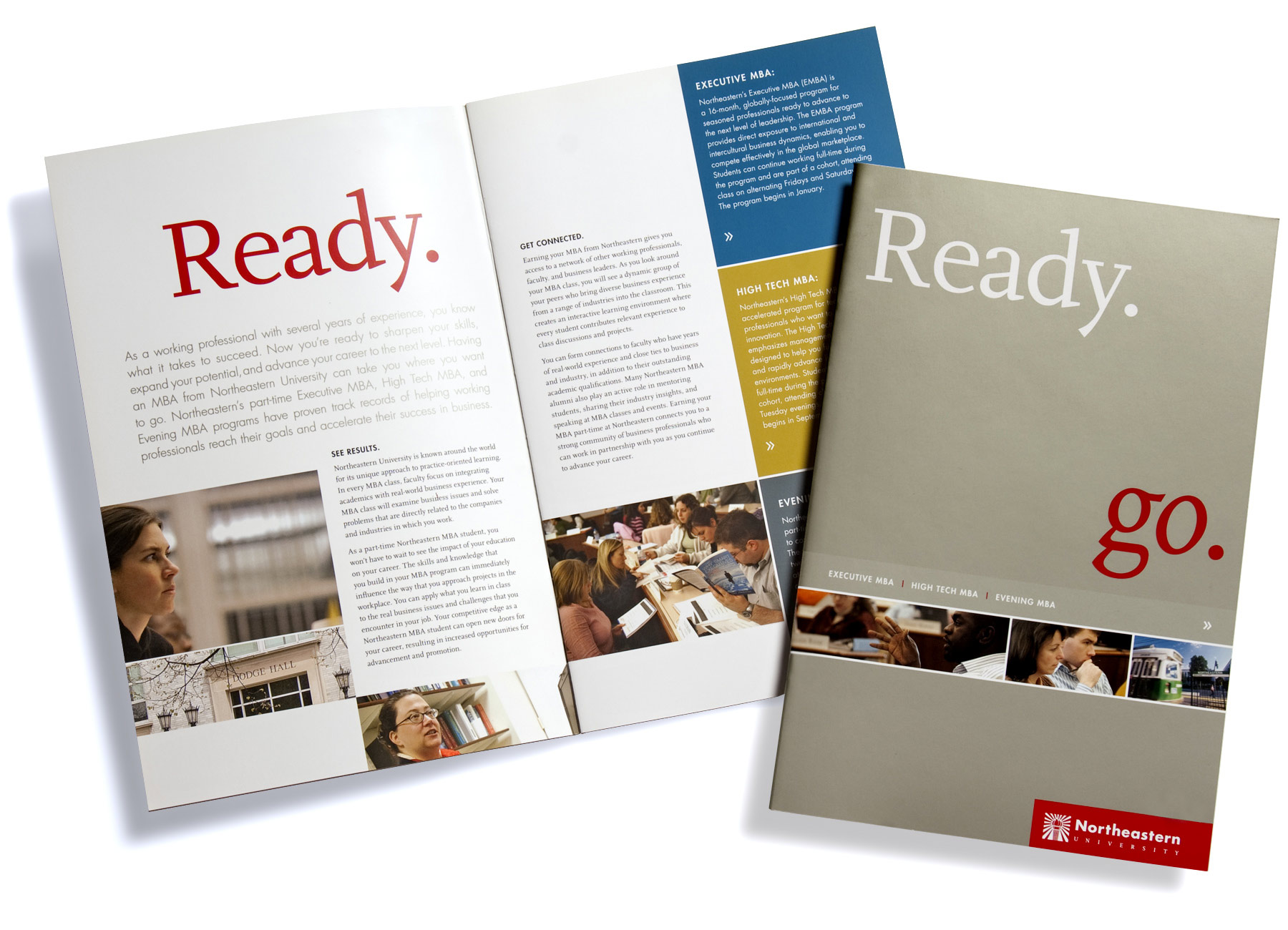 Northeastern University D'Amore-McKim School of Business Ready Go brochure