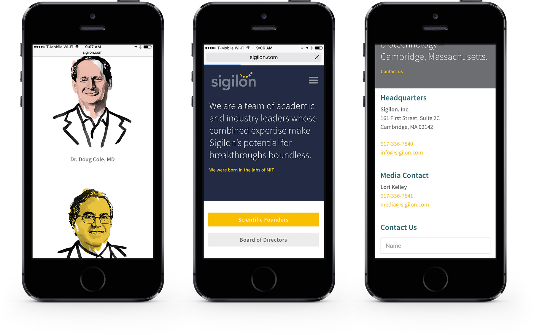 Sigilon Mobile 3 Up
