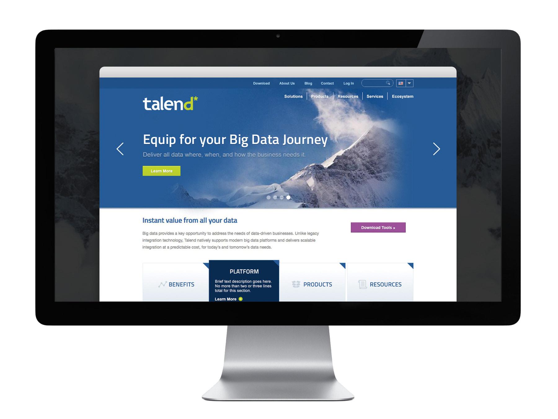 Talend website